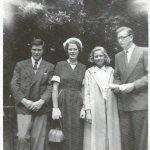 Vincent, Binnie, cousin May and Harry